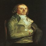 Francisco de Goya (1746-1828)  Dr Pearl  Oil on canvas  National Gallery, London, England